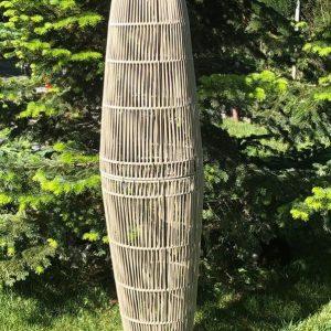 lámpara pie exterior cuerda